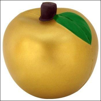 Gold Apple Stress Ball