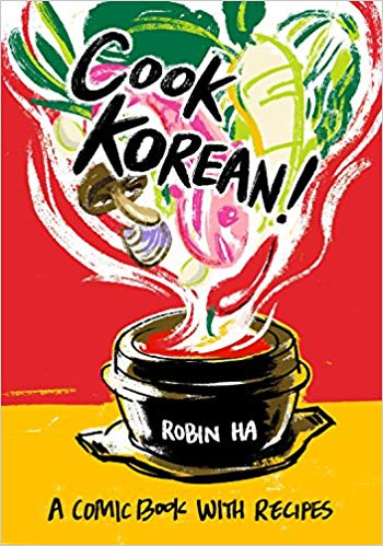 Cook Korean! Comic Book With Recipes