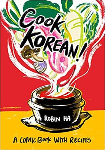 Cook Korean! Comic Book With Recipes