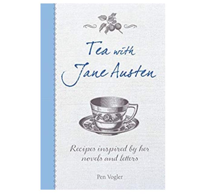 Tea with Jane Austen recipe book