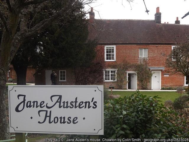 Jane Austen's House in Chawton, Hampshire, England